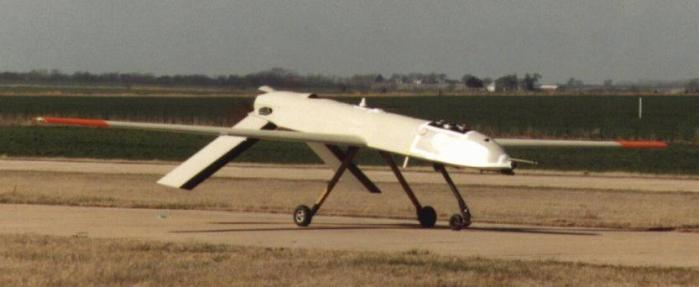 The General Atomics Gnat 750 UAV, the precursor to the Predator (Photo Credit: Sandia)