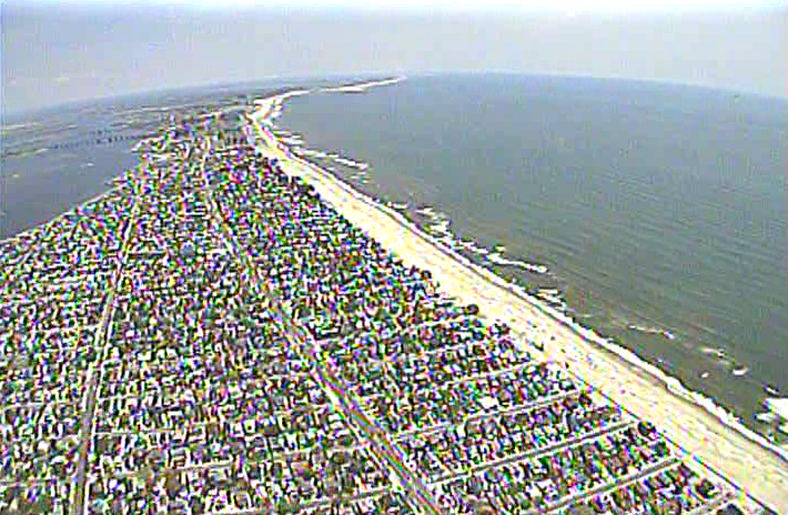 The Rockaways, captured by the Tushev drone.