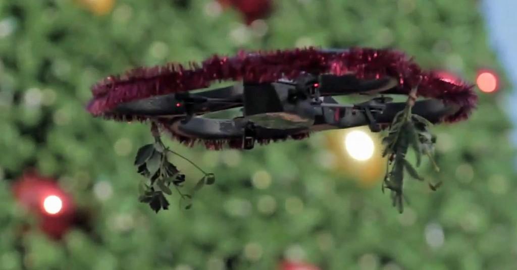 mistletoe-drone