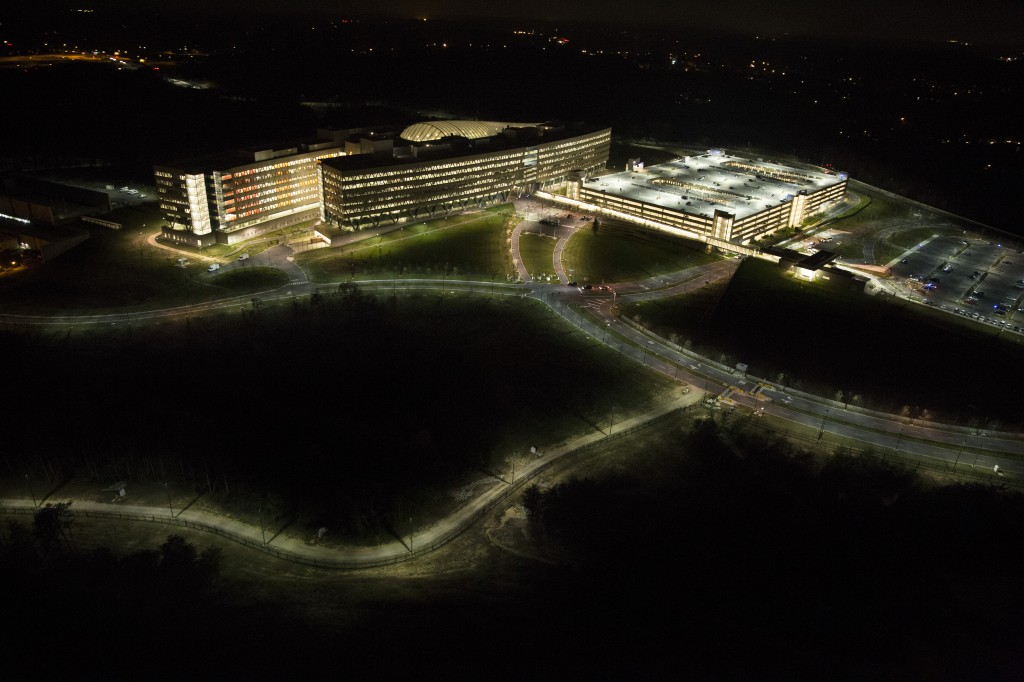The National Geospatial-Intelligence Agency in Springfield, Virginia. Credit: Trevor Paglen