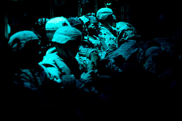 U.S. soldiers being transported. Credit: U.S. Air Force Photo/ Master Sgt. Adrian Cadiz