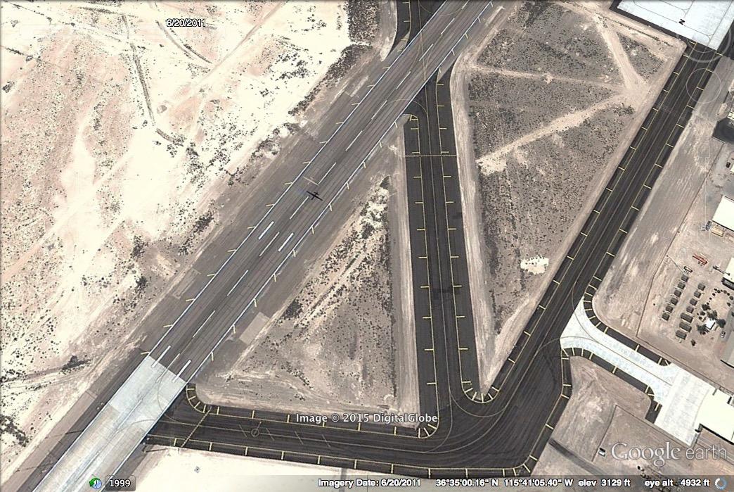 A Predator Drone At Creech Air Force Base Nevada In 2011 Imagery Digital Globe