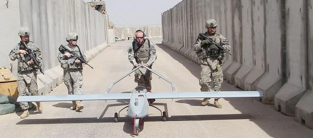An Army Shadow UAV platoon in Iraq in 2010. Credit: U.S. Army