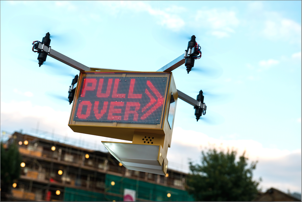 The RouteHawk Traffic Management Drone Credit: Superflux