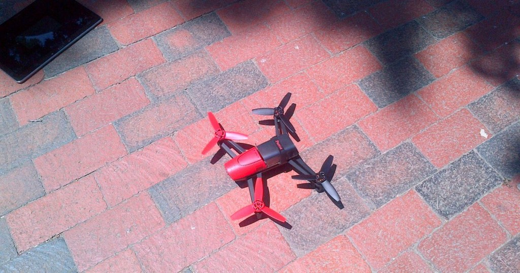 A man was arrested for flying a Parrot Bebop drone  near the White House. Credit: U.S. Secret Service