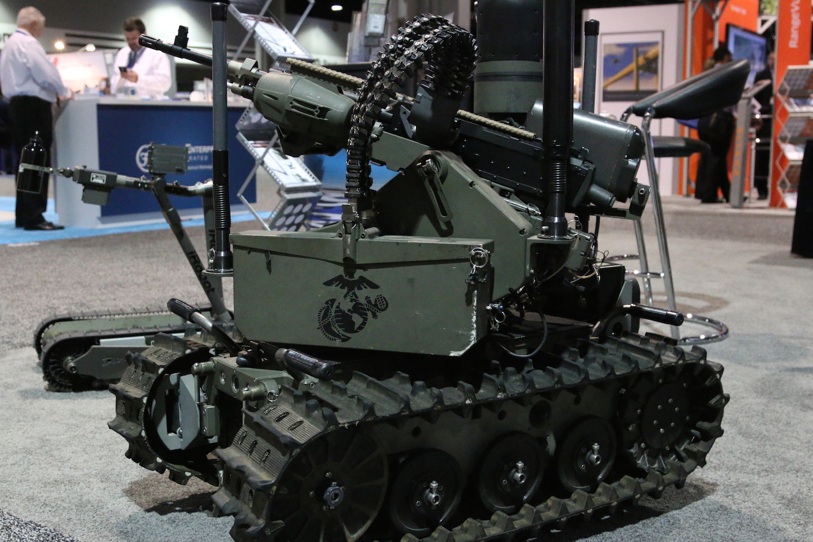 QinetiQs MAARS Armed Unmanned Ground Vehicle