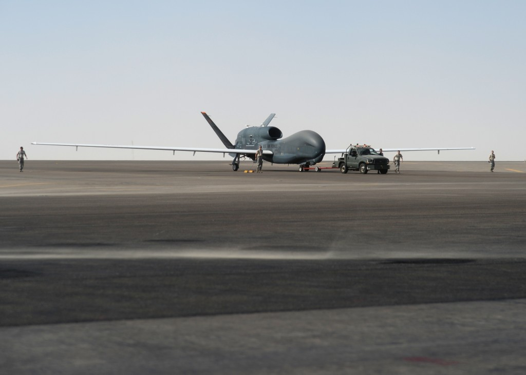 The State Department approved a $1.2 billion deal to sell RQ-4 Global Hawks to Japan. Credit:  Tech. Sgt. Frank Miller/U.S. Air Force