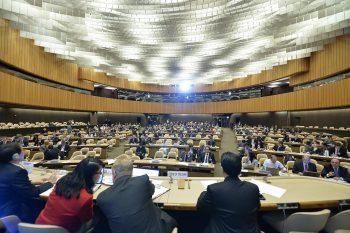 UN CCW meeting. Credit: UN Photo / Jean-Marc Ferré