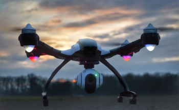 The Yuneec Q500. Rival drone maker DJI launched a patent infringement suit against Yuneec on Friday. Credit: Yuneec