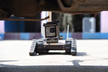 Image of an iRobot 510 Packbot by Staff Sgt. Maria Bowman.