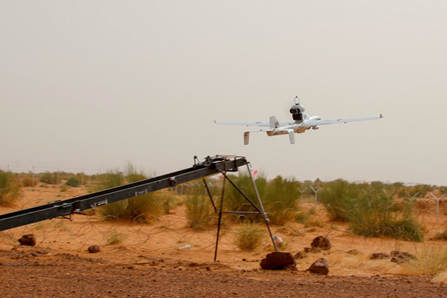 The German military began UAV reconnaissance operations as part of the UN mission to Mali last week.