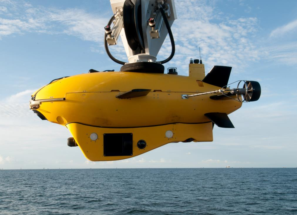 U.S. defense contractor Lockheed Martin claims to have successfully launched a UAV drone an unmanned undersea vehicle. Credit: Lockheed Martin